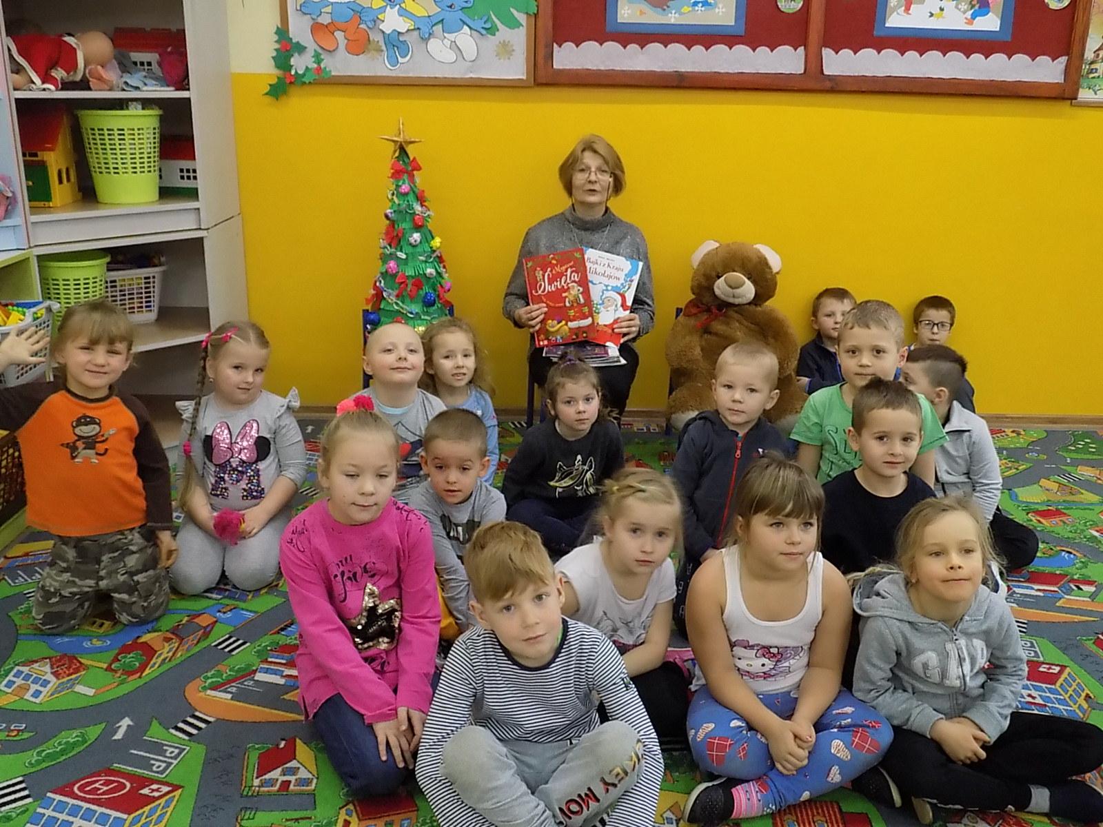 Spotkanie świąteczne wOddziale Przedszkolnym wWyszanowie