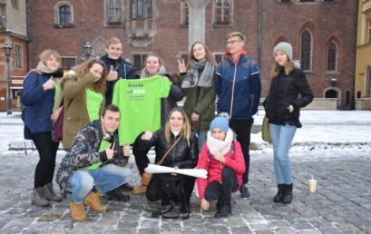 Wieruszowscy EKOgracze uczą się tworzyć gry miejskie!