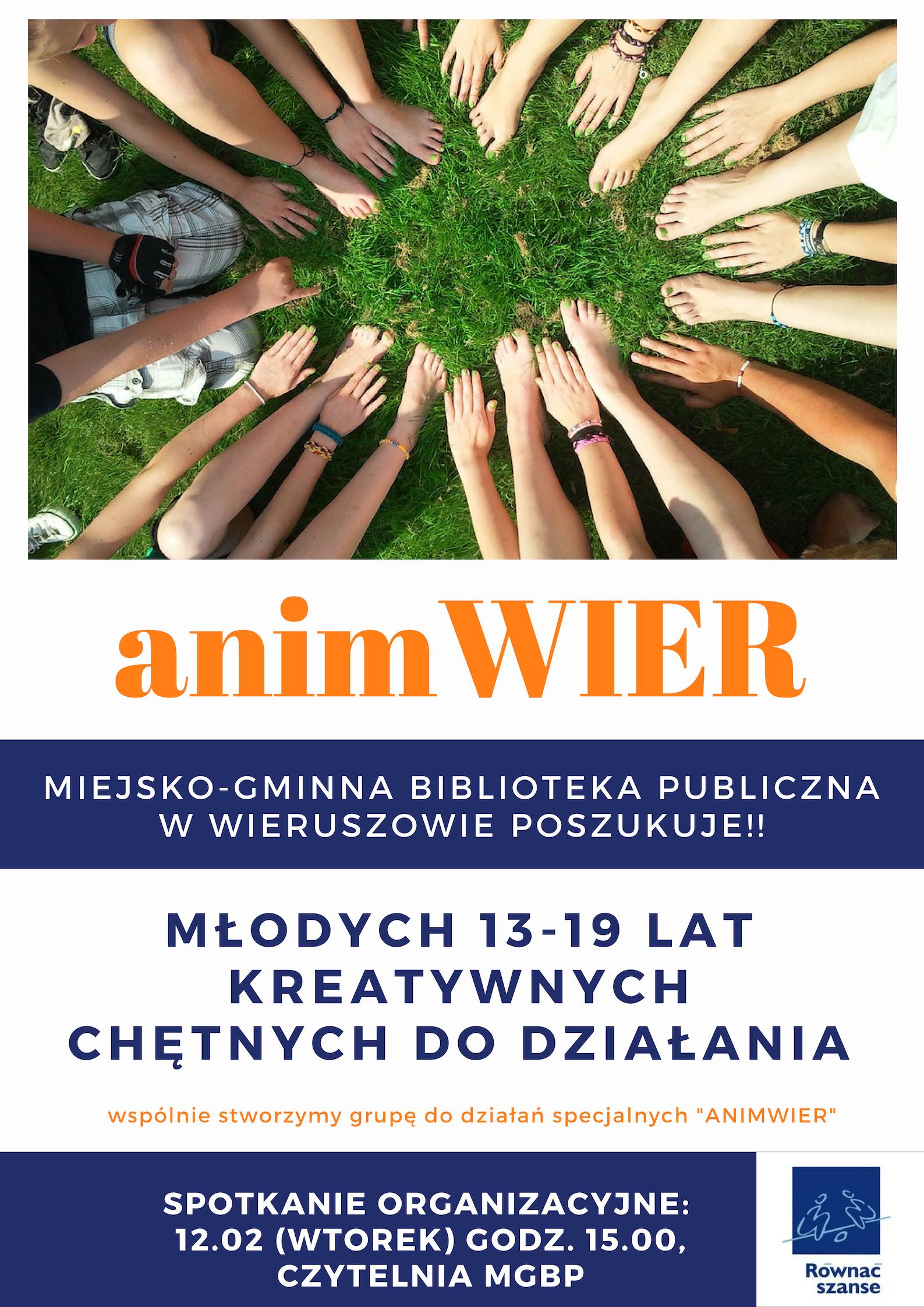 AnimWier!- ruszamy znowym projektem dlamłodzieży