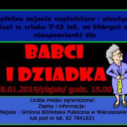 Warsztaty Na Dzień Babci I Dziadka Mgbp Wieruszów