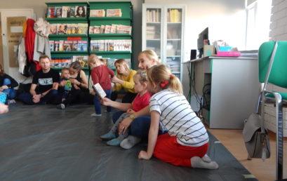 Wieruszowska bajkoteka – pierwsze zajęcia zanami