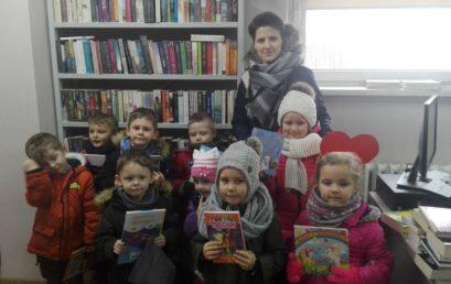 Filia wPieczyskach:  WALENTYNKI- miłość doksiążek!