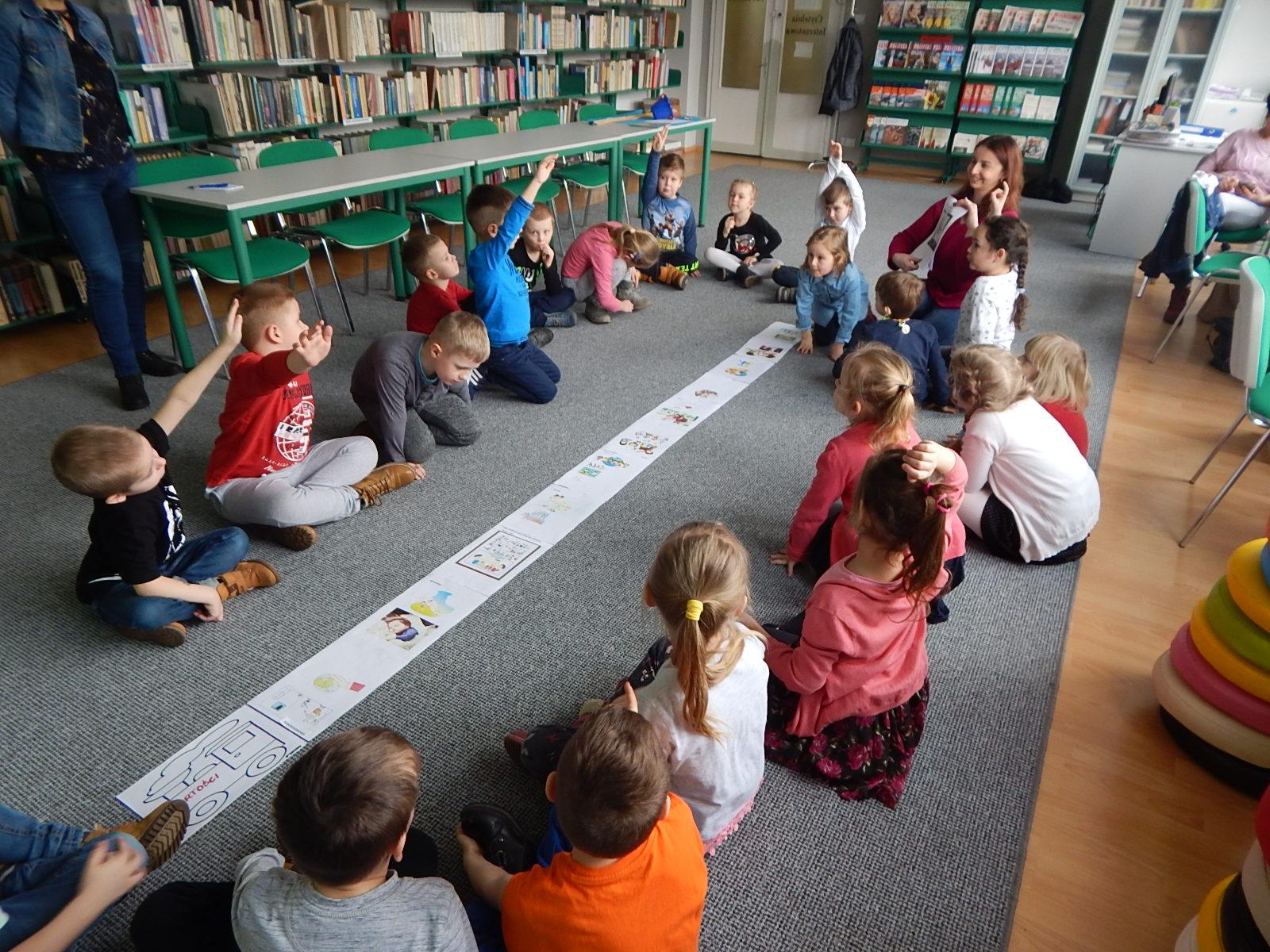 Lekcja biblioteczna – Wartości przedszkolaka