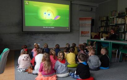 Lekcja biblioteczna – Wartości przedszkolaka – Słoneczka