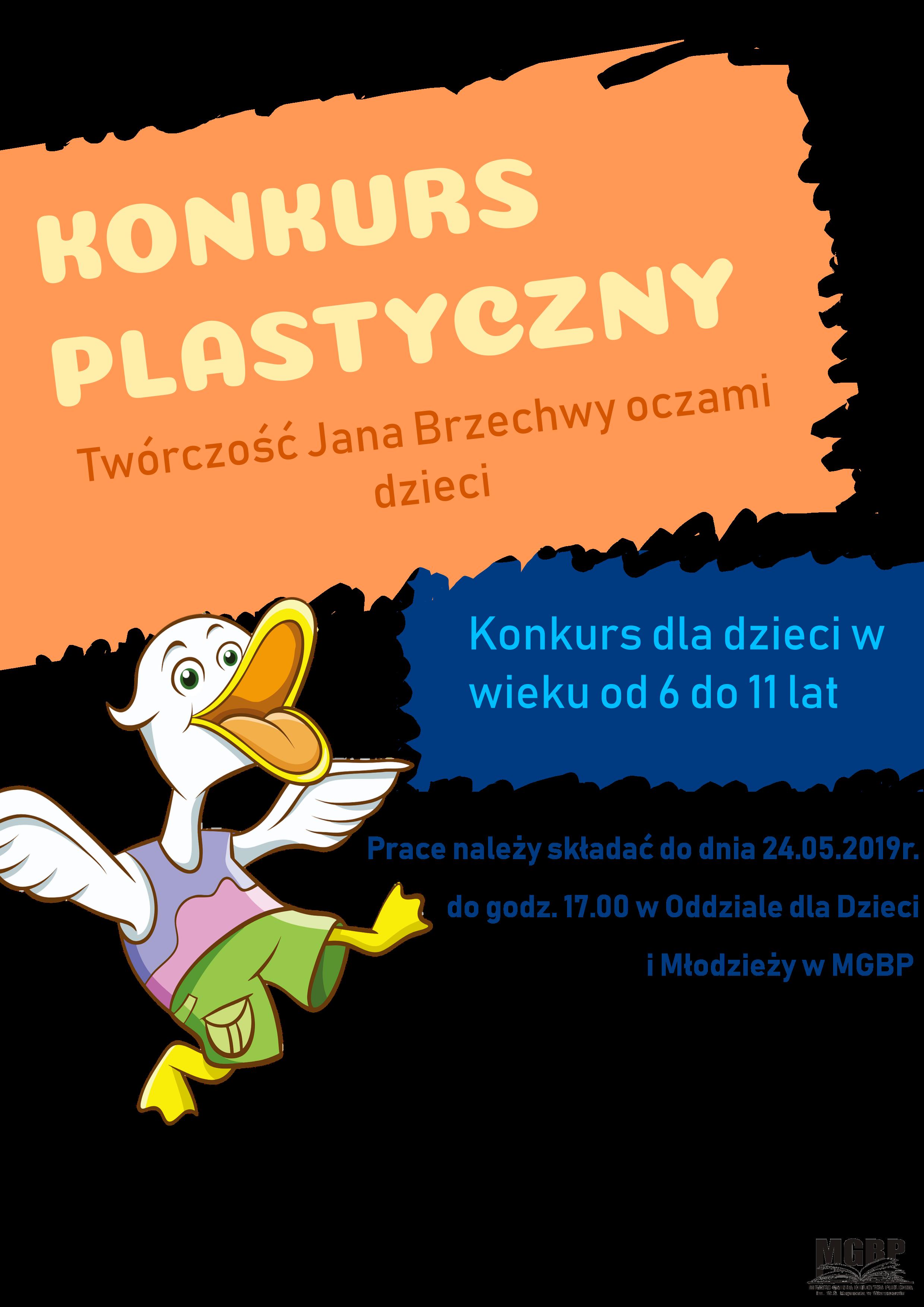 """Konkurs plastyczny """"Twórczość Jana Brzechwy oczami dzieci"""""""