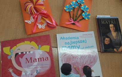 Filia nr 3- Dzień Matki-Wspólne czytanie to dobra zabawa