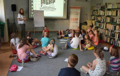 Lekcja biblioteczna dlauczniów Szkoły Podstawowej nr 1