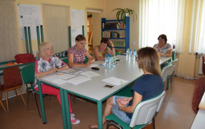 Aktywni Wieruszowianie 50+ – ostatnie zajęcia j. angielskiego