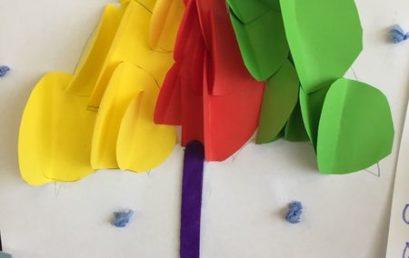 Jesienne parasole