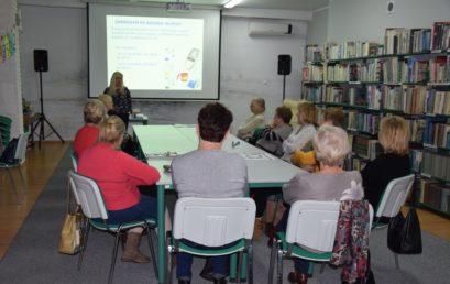 """Zajęcia zdietetykiem – trwa projekt """"Wzajemna edukacja kluczem dozdrowia"""""""