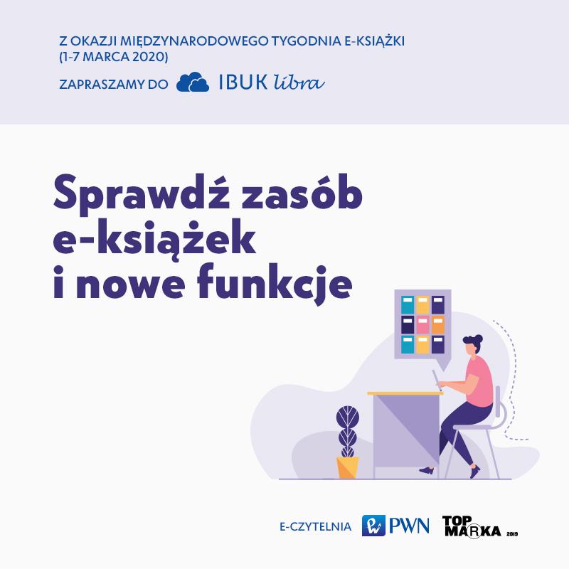 IBUK Libra wMiędzynarodowym Tygodniu E-książki. Nowe funkcje