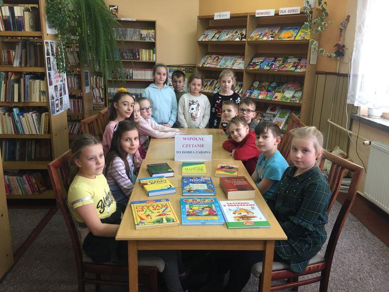 Wspólne czytanie to dobra zabawa