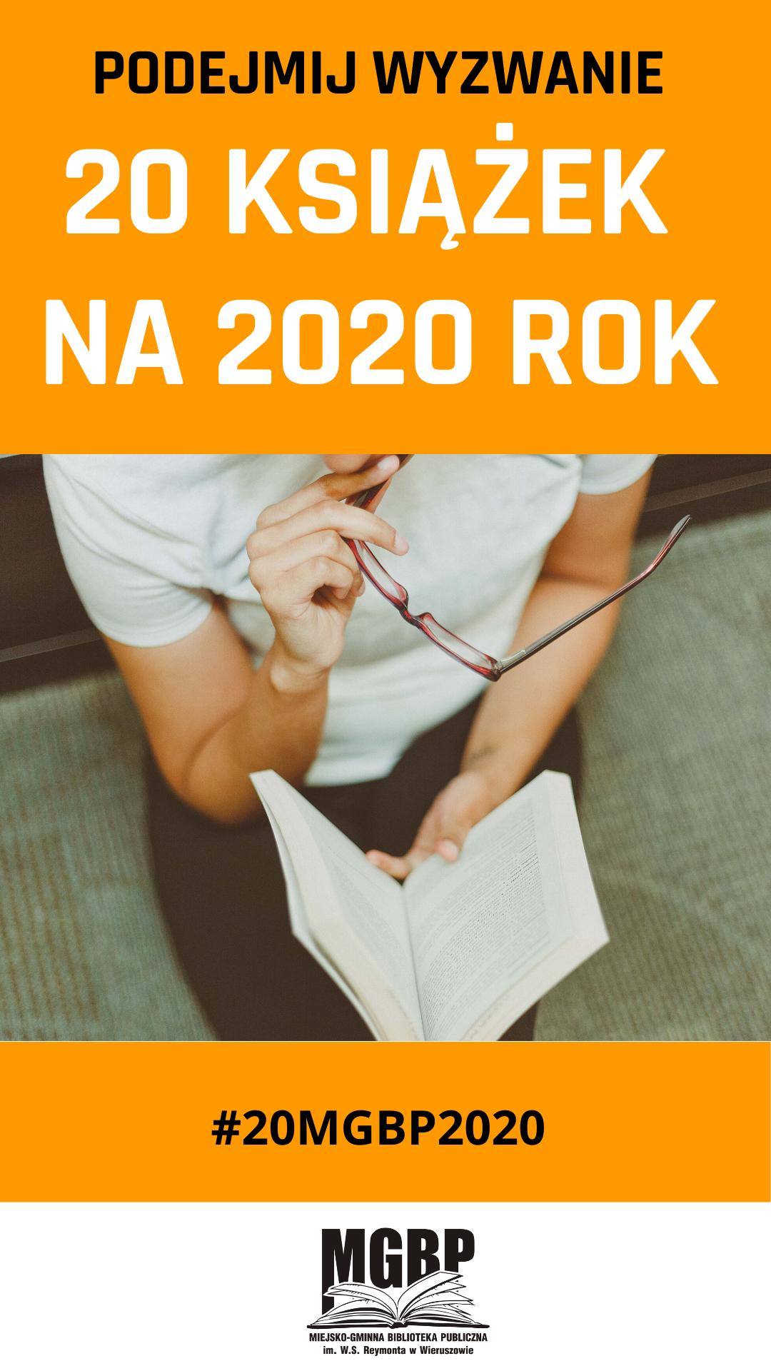 20 książek na2020 rok – podejmujesz wyzwanie?😎📙