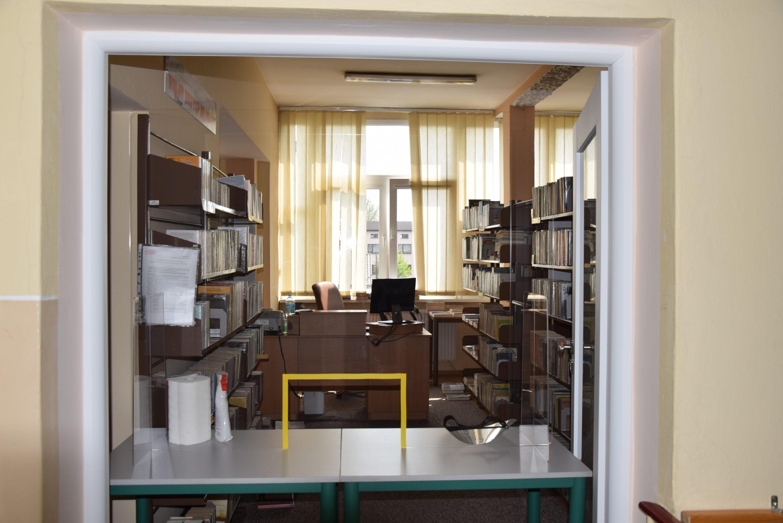 Biblioteka nadal nieczynna