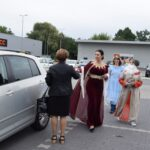 Akcja promocyjna NARODOWE CZYTANIE - kanclerz, Balladyna, Goplana i mieszkanka spotkana na ulicy
