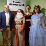 Akcja promocyjna NARODOWE CZYTANIE - kanclerz, Balladyna, Goplana i wicestarosta