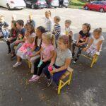 MGBP filia nr 1 spotkanie z jesienią, dzieci przedszkolne