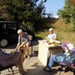 MGBP w Wieruszowie Filia nr 1 Panie podczas spotkania z ksiazkami
