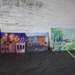 Plener malarski obrazy uczestników