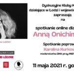 Spotkanie autorskie zAnną Onichimowską