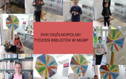 Ogólnopolski Tydzień Bibliotek wMGBP
