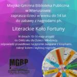XVIII Tydzień Bibliotek 8-15 maja 2021 r.
