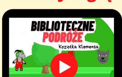 """Gra """"Biblioteczne przygody Koziołka Klemensa"""""""