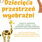"""Miejsko-Gminna Biblioteka Publiczna wWieruszowie rusza z""""Dziecięcą przestrzenią wyobraźni"""""""