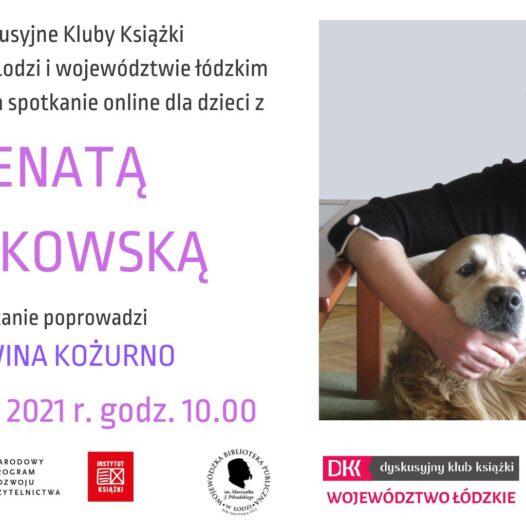 Spotkanie autorskie zRenatą Piątkowską