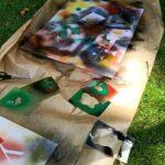 Muralki w Łodzi - wycieczka młodzieży z projektu Równać Szanse
