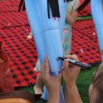 Projekt Dziecięca przestrzeń wyobraźni czytanie na rynku dla dzieci