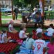 Czytanie dla dzieci na rynku w Wieruszowie