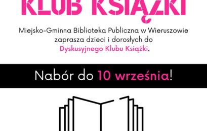 Zapisy doDyskusyjnego Klubu Książki
