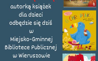 Spotkanie autorskie zDominiką Gałką