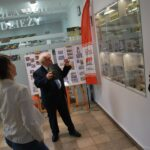 Wystawa filatelistyczna II Wojna Św w Bilbiotece