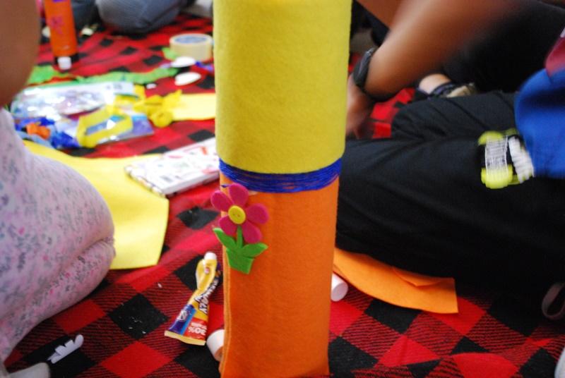 Dziecięca przestrzeń wyobraźni – ostatnie zajęcia zprojektu naFilii Bibliotecznej wWyszanowie