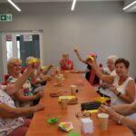 Klub Seniora zajęcia plastyczne Filia nr 3 MGBP