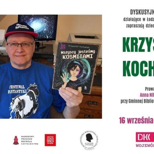 Spotkanie online zKrzysztofem Kochańskim – ztłumaczeniem naPJM