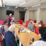 zajęcia dla seniorów w Filii nr 3 z projektu Senior+