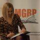 Spotkanie autorskie z Moniką Ciesielską w MGBP w Wieruszowie